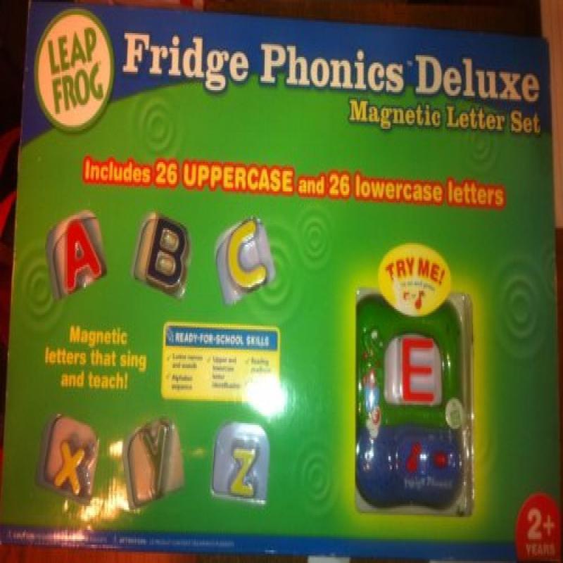 LeapFrog Fridge Phonics Deluxe Magnetic Letter Alphabet Set