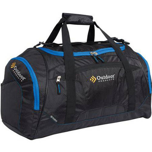 Athletex Ballistic Duffle Bag, Black