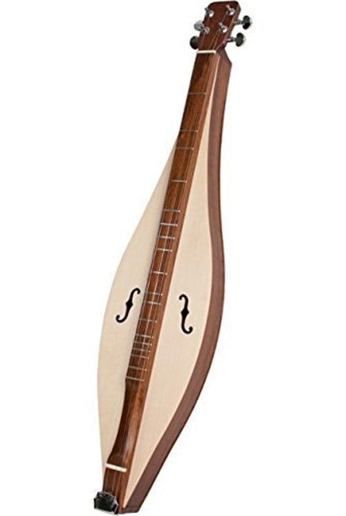 Faith Teardrop Spruce Mountain Dulcimer 4-String by Roosebeck