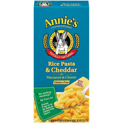 Annie's Rice Pasta & Cheddar Natural Macaroni & Cheese, 6 Oz