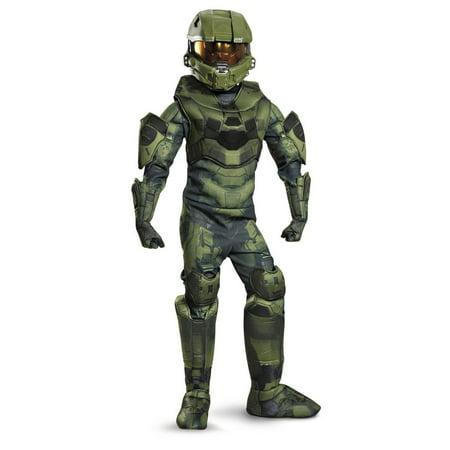 Halo Kids Halloween Costumes (Boy's Master Chief Prestige Halloween Costume -)