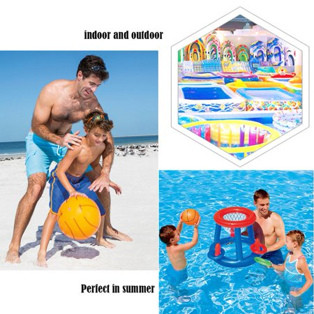 Water Basketball Hoop Pool Float Inflatable Swimming Pool Toy Water Sport Toy Pool Floating Toys for Children - image 4 of 7
