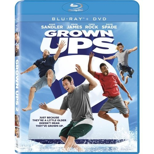 Grown Ups 2 (Blu-ray   DVD) (With INSTAWATCH) (Widescreen)