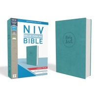 NIV, Value Thinline Bible, Large Print, Imitation Leather, Blue (Other)(Large Print)