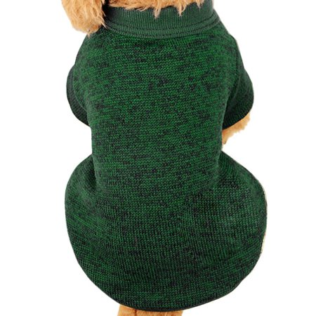 Cute Clothes For Puppies (Pet Dog Puppy Sweater Fleece Sweater Clothes Warm)