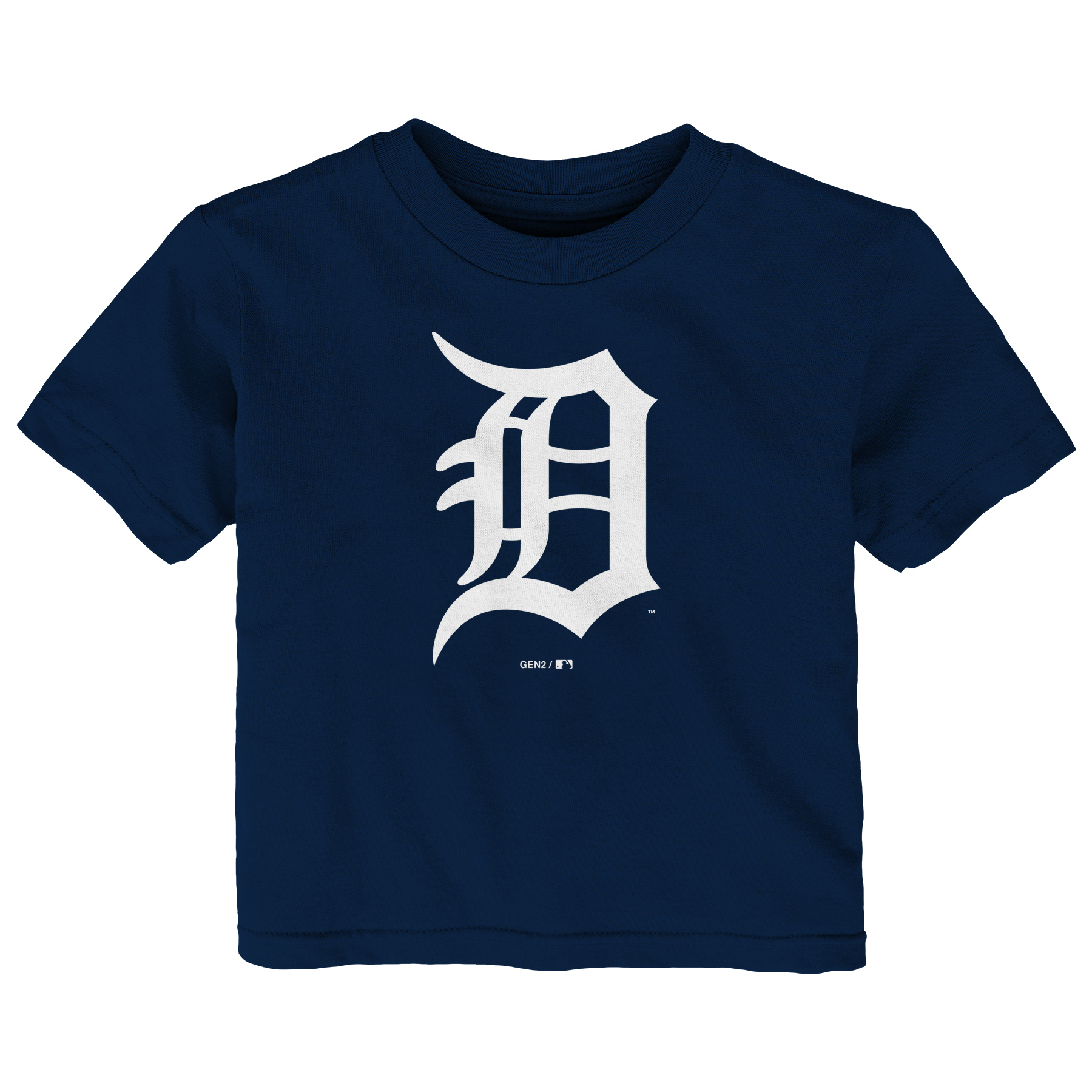 Detroit Tigers Infant Primary Logo T-Shirt - Navy