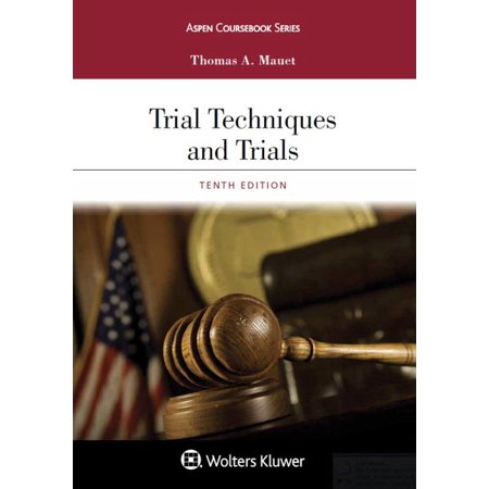 Trial Techniques And Trials   Website Companion
