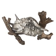 Sterling Conch Shell on Branch Figurine