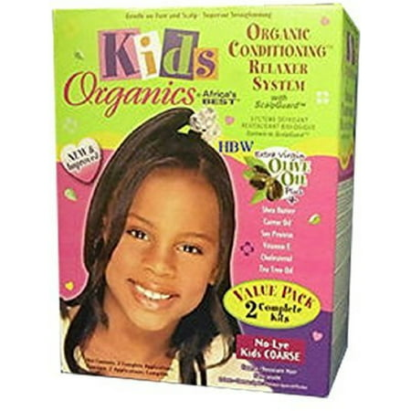 Africa's Best Kids Organic Relaxer Coarse Value Pack 1