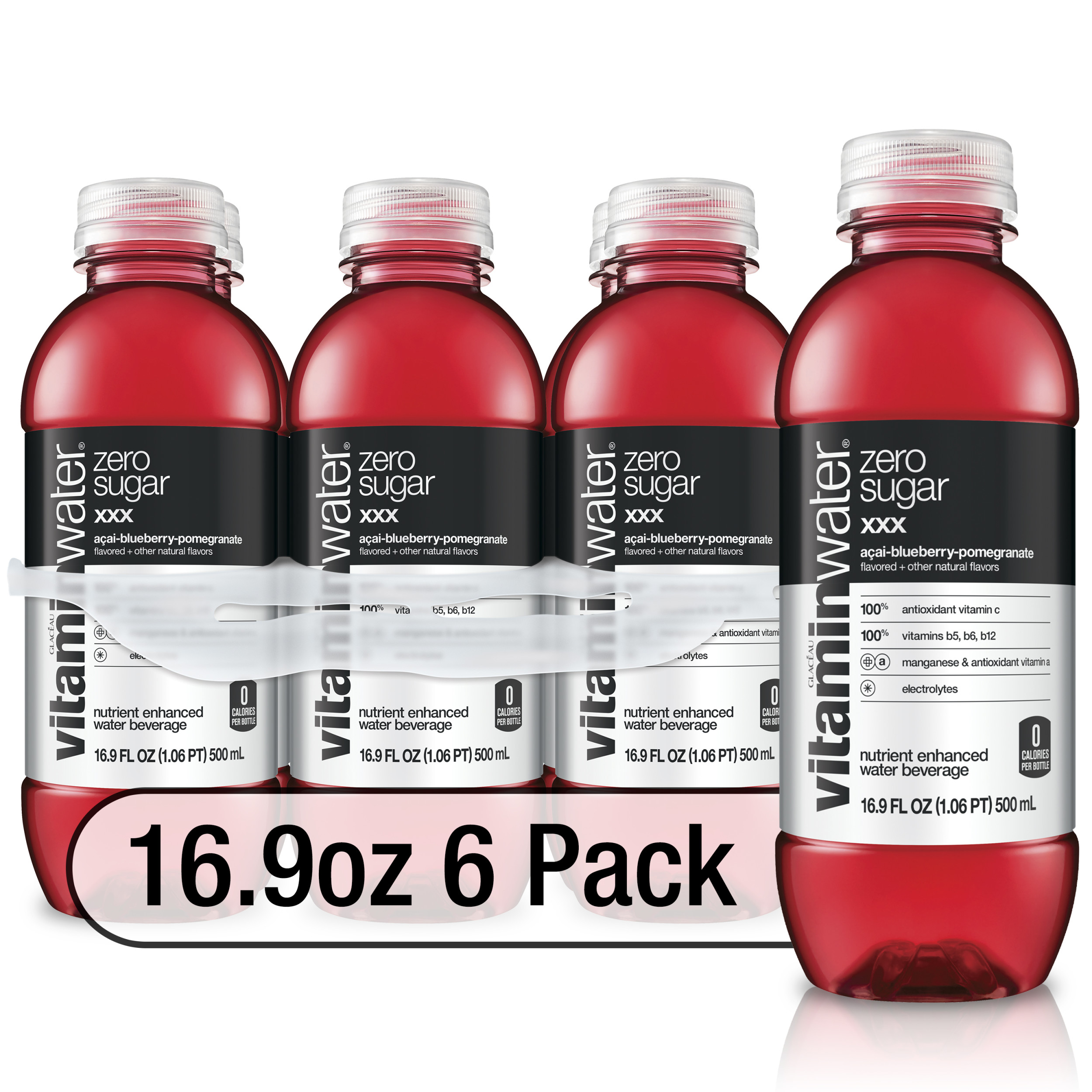 (12 Bottles) Vitaminwater xxx Enhanced Water, Acai