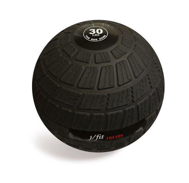 j/fit Dead Weight Treads Slam Ball - 30lb