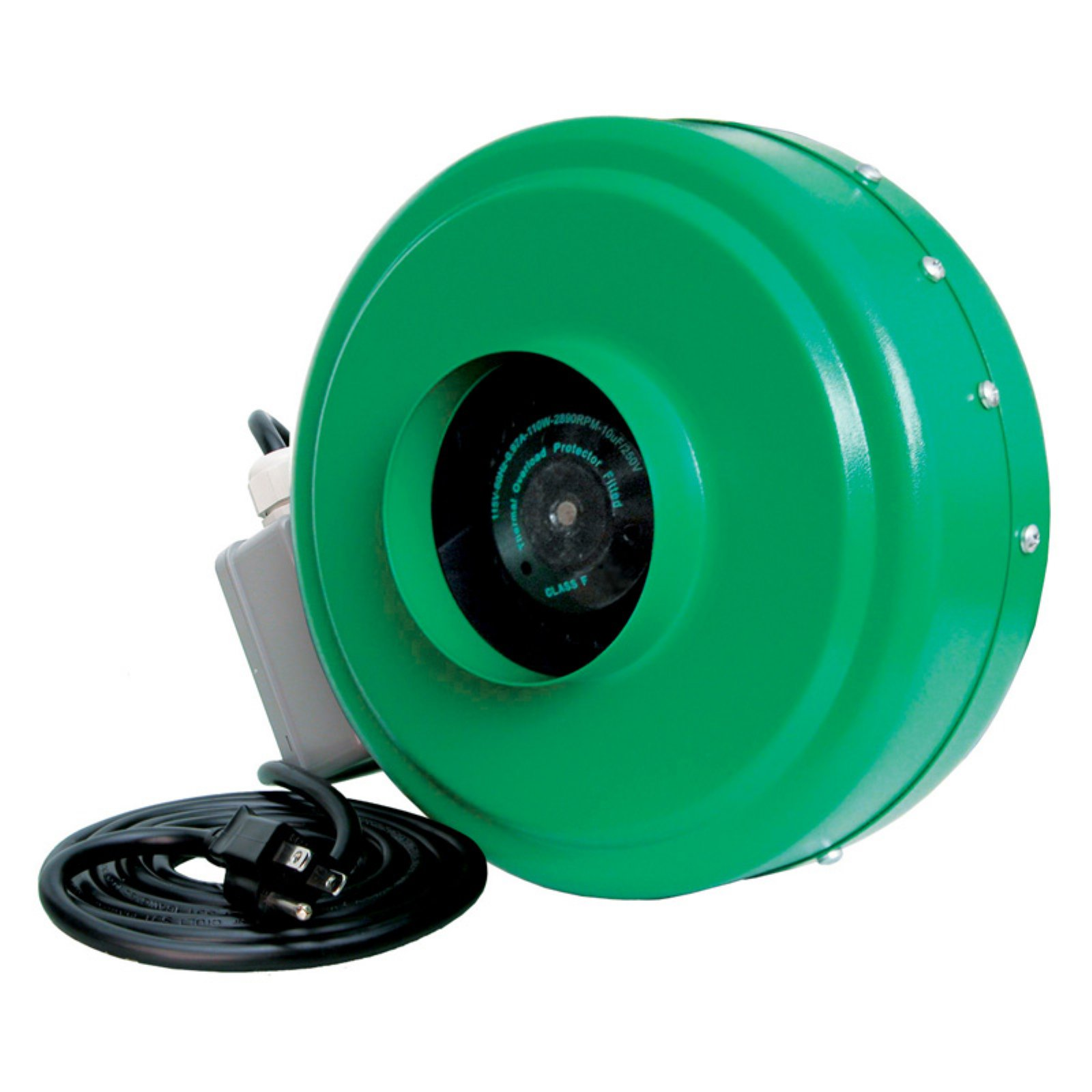 4 in. In-Line Fan - 165 CFM