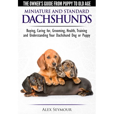 Dachshunds: The Owner's Guide from Puppy To Old Age - Choosing, Caring For, Grooming, Health, Training and Understanding Your Standard or Miniature Dachshund Dog - eBook