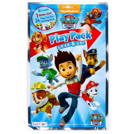 Party Favors - Paw Patrol - Grab and Go Play Pack - - Play Pack Grab And Go