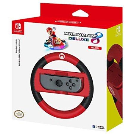 Hori Mario Kart 8 Deluxe - Mario Racing Wheel - Controller forNintendo (Hori Wireless)