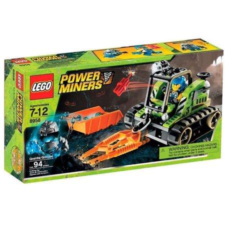 Power Miners Granite Grinder Set Lego 8958