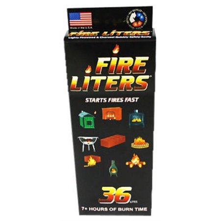 Fire Liters 10836 36 Pack Fire Lighter Cubes