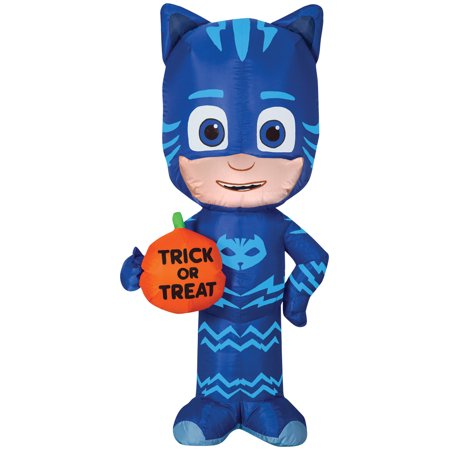 PJ Mask Catboy Trick or Treat Airblown Halloween Decoration (Diy Healthy Halloween Treats)