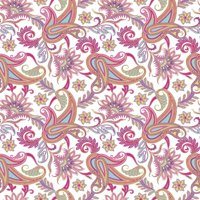Jillson & Roberts Gift Wrap, Classic Paisley (8 Rolls 5ft x 30in)