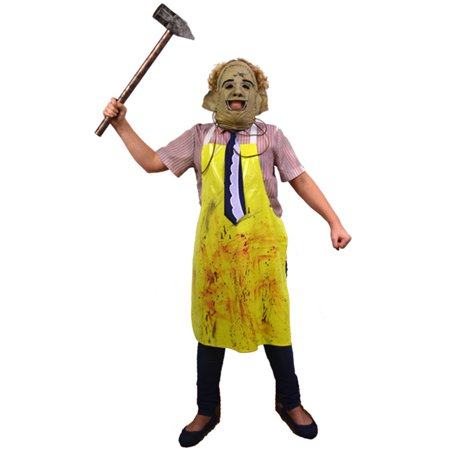 The Texas Chainsaw Massacre Leatherface Children's Costume](Chainsaw Massacre Costumes)