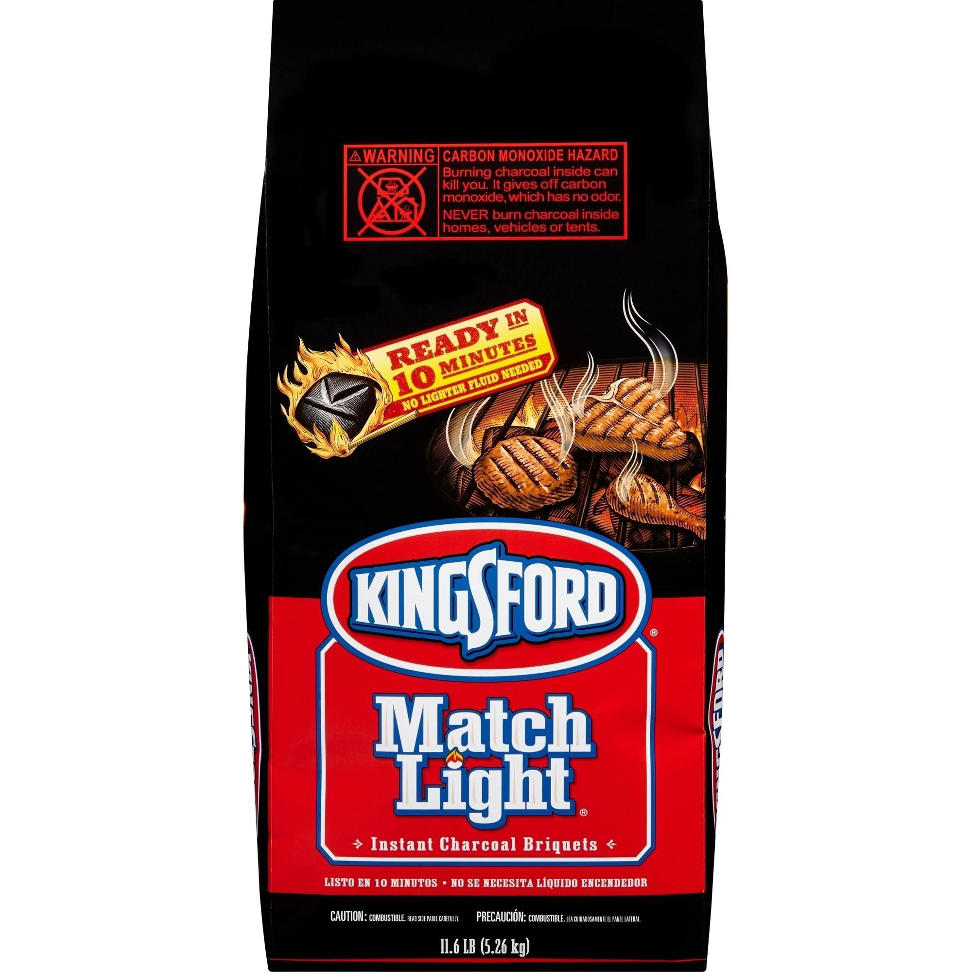 Kingsford Match Light Charcoal Briquets, 11.6 lb Bag