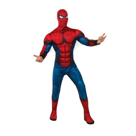 Spider Man Suit (Spider-Man Far From Home: Spider-Man Deluxe (Red/ Blue Suit))