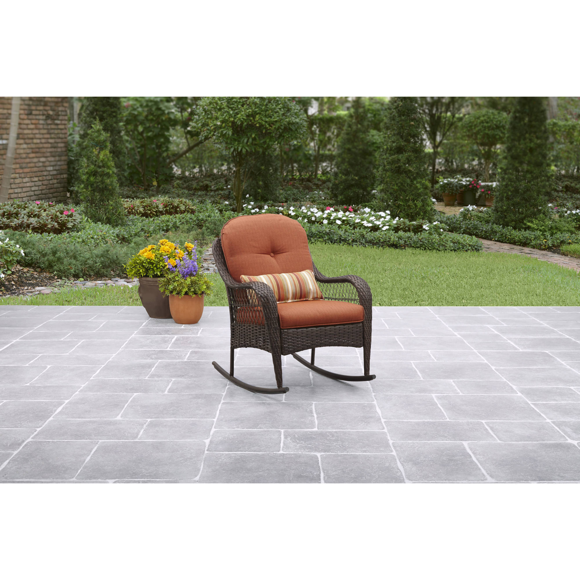 better homes and gardens azalea ridge porch rocking chair walmartcom