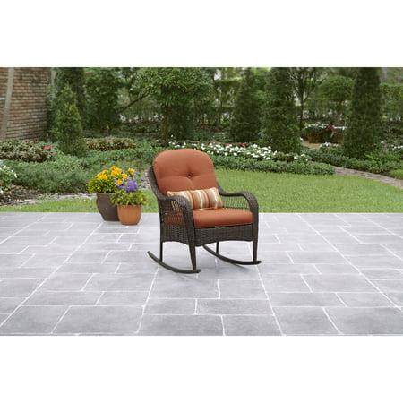 Exellent Better Homes And Gardens Patio Furniture Azalea Ridge Porch Rocking Chair E Decor
