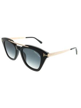 b1d37b74af52 Product Image Tom Ford Anna TF 575 01B Unisex Square Sunglasses