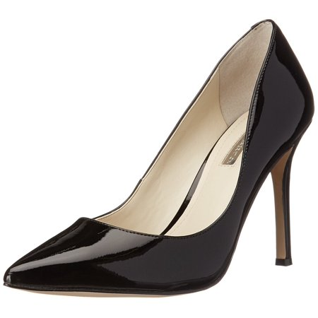 Bcbg Women's Treasure Black Patent Ankle-High Leather Pump - 7.5M