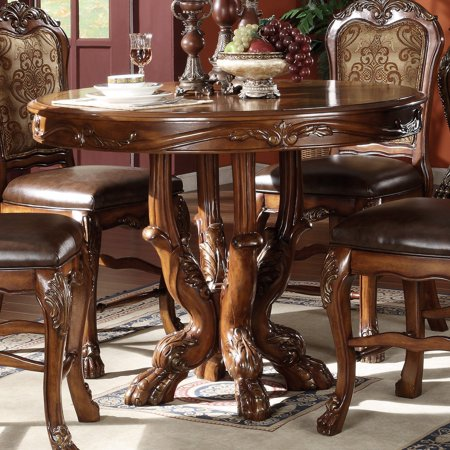 - Acme Furniture Dresden Round Counter Height Table