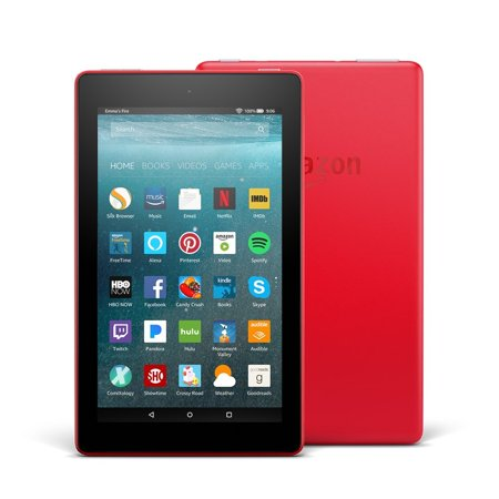 Fire7 Tablet Alexa 7In Display 16Gb Red