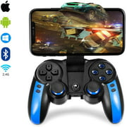 LUXMO Mobile Game Controller Wireless Bluetooth Gamepad Joystick Video Games Controller Compatible with iOS Android iPhone Tablet PC/TV Box Perfect for The Most Games