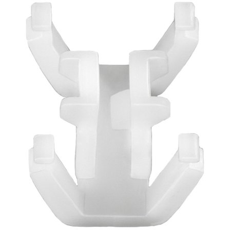 Clipsandfasteners Inc 15 Front & Side Door Exterior Trim Moulding Clips Compatible with Honda