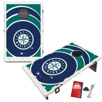 Seattle Mariners 2' x 3' BAGGO Vortex Cornhole Board Tailgate Toss Set