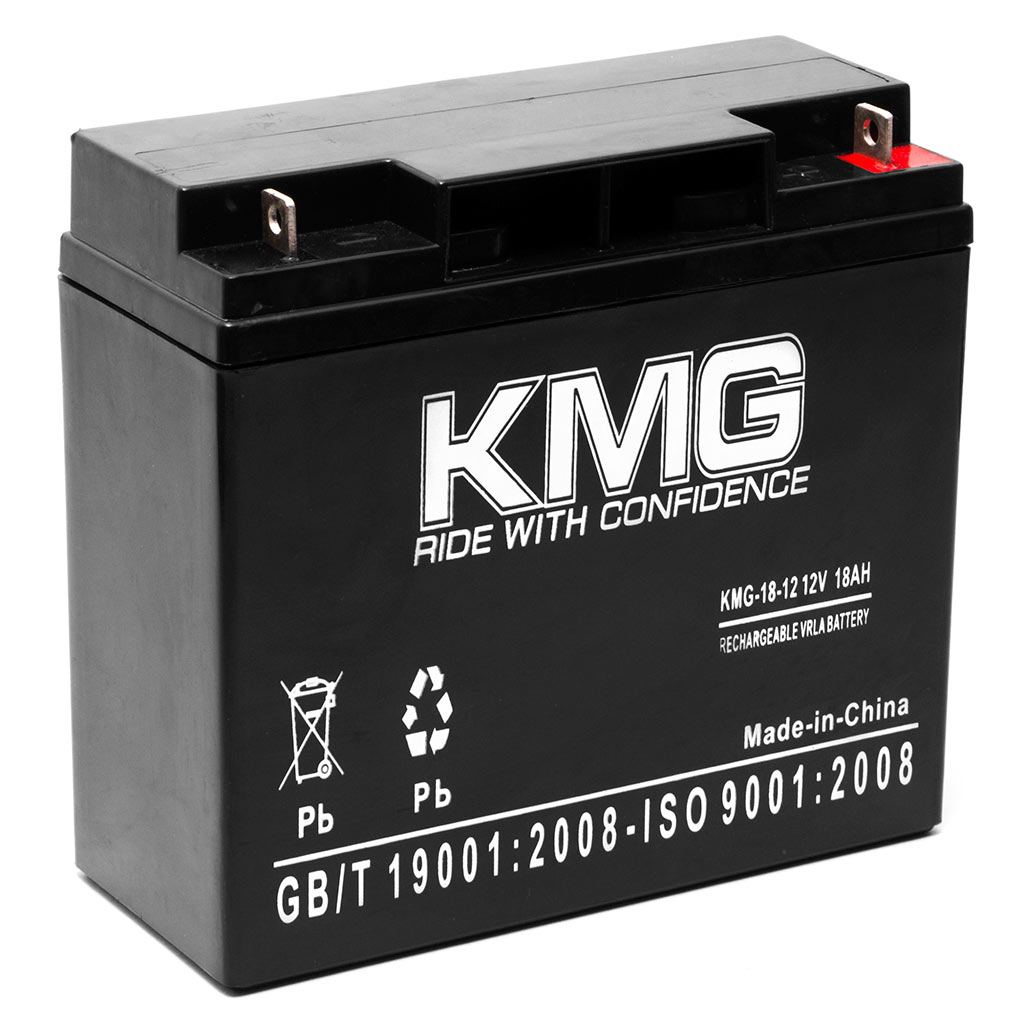 KMG 12V 18Ah Replacement Battery for Electric Bicycle EV WARRIOR