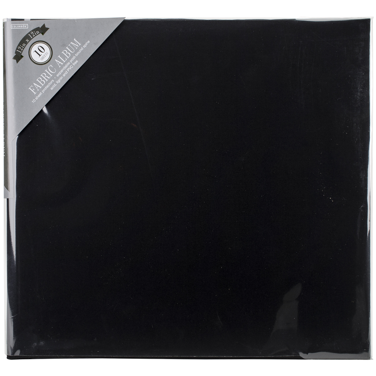 Includes 10 Acid Free 12x12 Inch Pages Vintage Travel Expandable Scrapbook