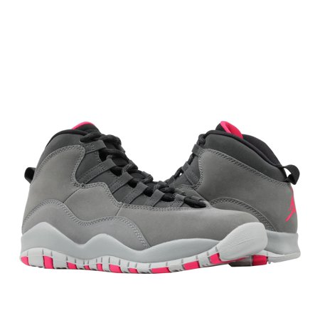 Nike Jordan Girl - Nike Air Jordan 10 Retro (GS) Dark Shadow Grey Big Kids Shoes 487211-006