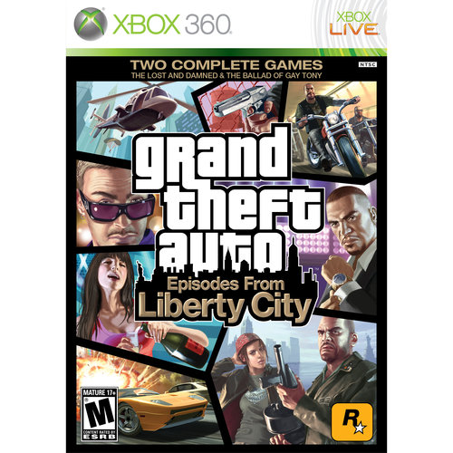 Grand Theft Auto: Episodes from Liberty City (Xbox 360)