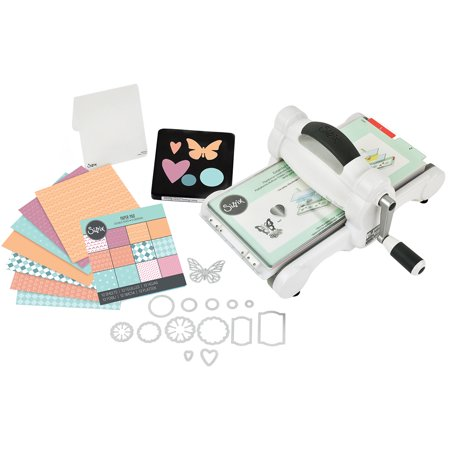 Sizzix Big Shot Starter Kit (White & Gray) (Big Shot Machine Best Price)