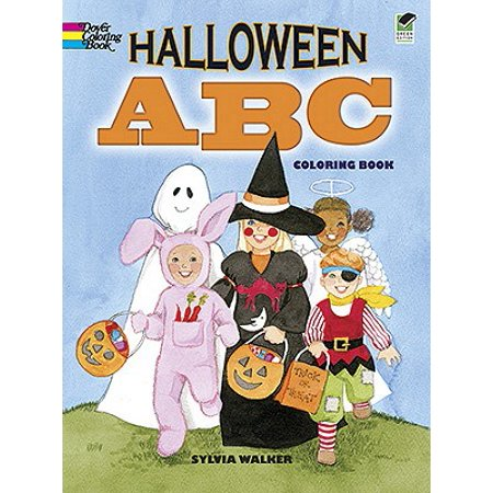 Halloween ABC Coloring Book - First Grade Halloween Coloring Pages