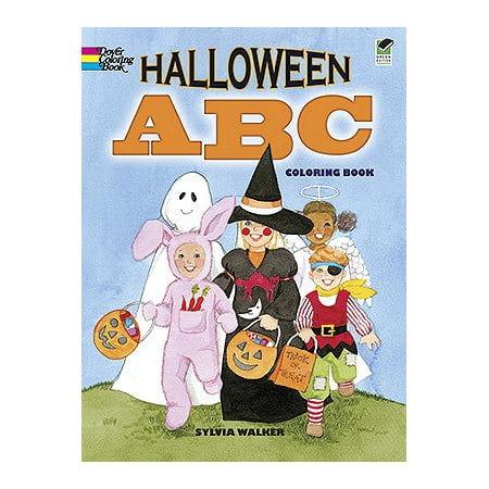 Halloween ABC Coloring Book - Kid Halloween Coloring Pages