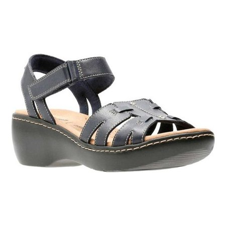 078f0a5838ad Clarks - Women s Delana Nila Ankle Strap - Walmart.com