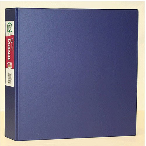 """Avery 1.5"""" Durable Binder With EZ-Turn Ring, NAVY BLUE"""