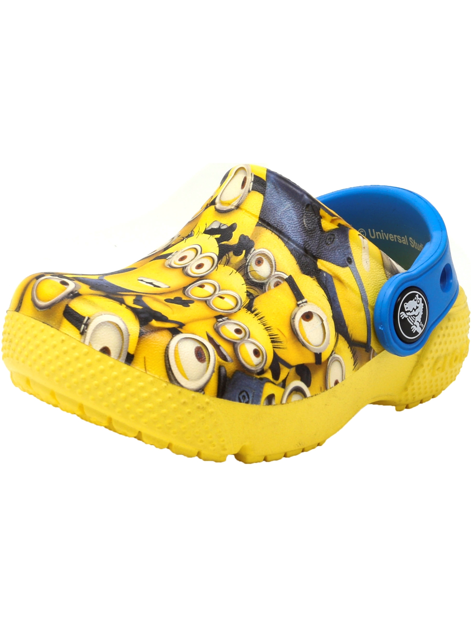Crocs Crocksfunlab Minions Graphic Sunshine Ankle-High Clogs 1M by Crocs