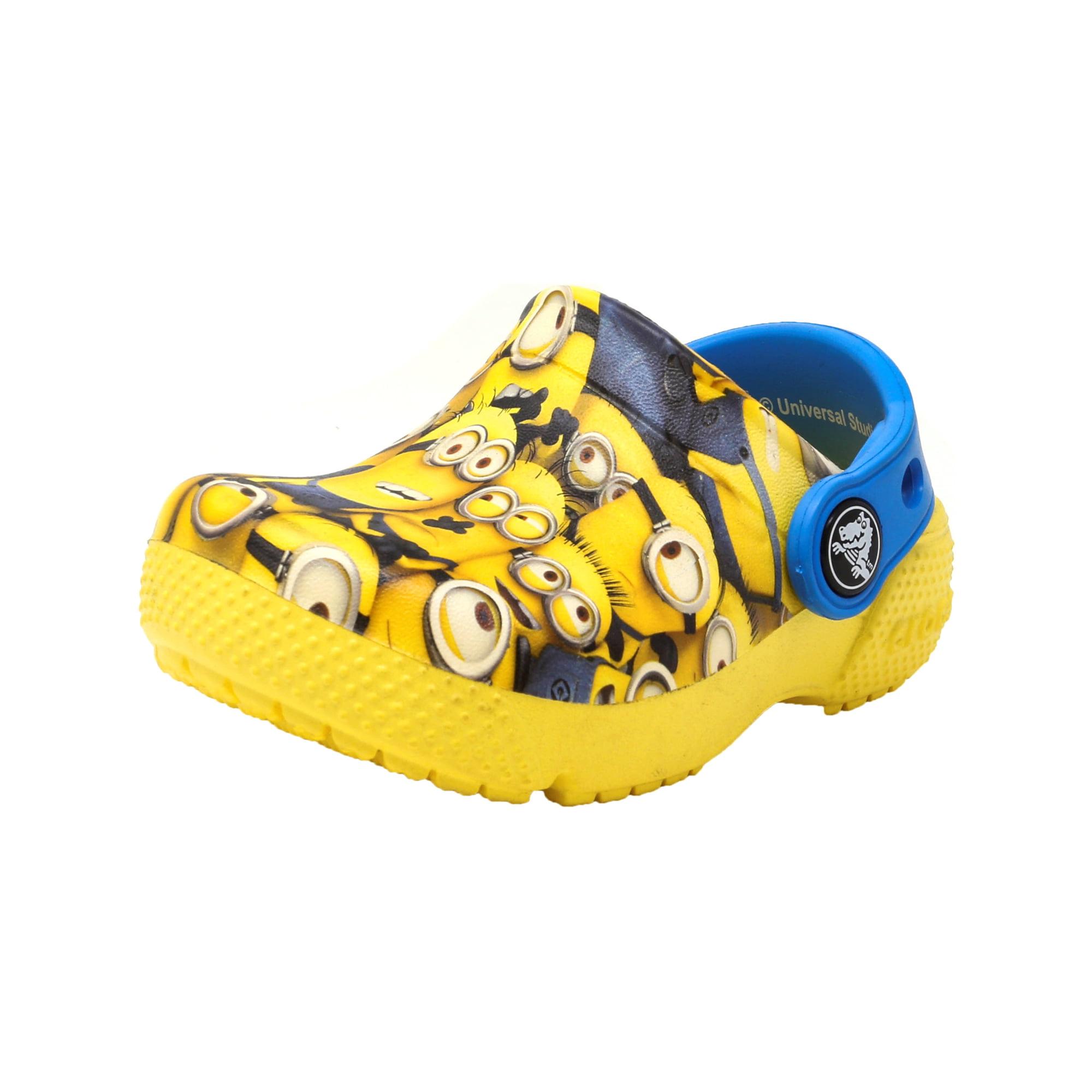 bcf7d605cc608e Buy Crocs Crocksfunlab Minions Graphic Sunshine Ankle-High Clogs ...