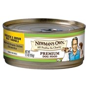 Newman`s Own Organics Chicken & Brown Rice Formula Wet Dog Food, 5.5 Oz, 24 Ct