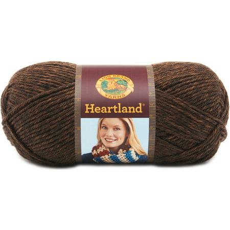 23 Acrylic Yarn - Lion Brand Yarn Heartland 3-Pack 100 Percent Acrylic Yarn