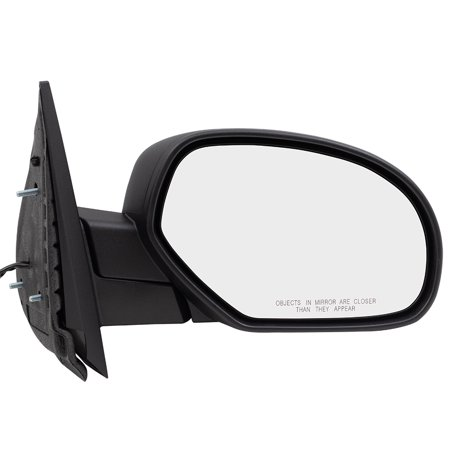 BROCK Power Side View Mirror Heated Passenger Replacement for 07-13 Chevrolet Avalanche Silverado GMC Sierra Pickup Truck 20809948 GM1321325 (Passenger Side Power Heated Mirror)