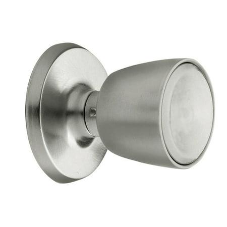 Weiser Lock GAC12B Satin Chrome Beverly Single Dummy Door Knob From The Elements Series